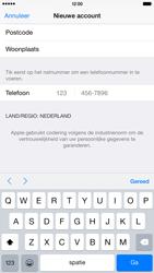 Apple iPhone 6 Plus (Model A1524) - Applicaties - Account aanmaken - Stap 23