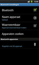 Samsung I9001 Galaxy S Plus - Bluetooth - headset, carkit verbinding - Stap 7