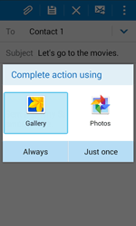 Samsung J100H Galaxy J1 - E-mail - Sending emails - Step 13