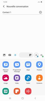 Samsung Galaxy S20+ - Contact, Appels, SMS/MMS - Envoyer un MMS - Étape 10