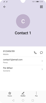 Huawei Y6P - Contact, Appels, SMS/MMS - Ajouter un contact - Étape 11