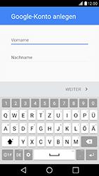 LG X Power - Apps - Konto anlegen und einrichten - Schritt 4