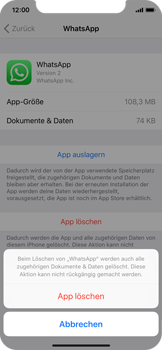 Apple iPhone X - Apps - Apps deinstallieren - 7 / 8