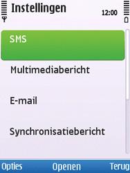 Nokia C5-00 - SMS - Handmatig instellen - Stap 5