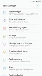 Samsung Galaxy A5 (2016) - Android Nougat - Bluetooth - Verbinden von Geräten - Schritt 4