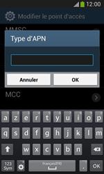 Samsung Galaxy Ace III - Internet et roaming de données - Configuration manuelle - Étape 14