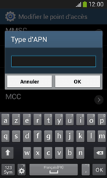 Samsung S7275 Galaxy Ace 3 - Internet - configuration manuelle - Étape 15
