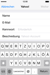 Apple iPhone 4 S - E-Mail - Konto einrichten (yahoo) - 7 / 12