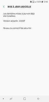 Samsung Galaxy A6 - Aller plus loin - Mettre à jour le logiciel interne de votre mobile - Étape 8