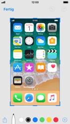 Apple iPhone SE - iOS 11 - Bildschirmfotos erstellen und sofort bearbeiten - 7 / 8