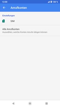 Sony Xperia XZ2 Premium - Android Pie - Anrufe - Rufumleitungen setzen und löschen - Schritt 7