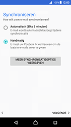 Sony Xperia X (F5121) - Android Nougat - E-mail - Account instellen (POP3 met SMTP-verificatie) - Stap 21
