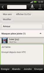 HTC C525u One SV - E-mail - envoyer un e-mail - Étape 14