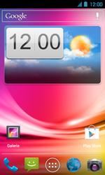 Acer Liquid Glow E330 - SMS - Configuration manuelle - Étape 1