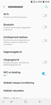 Samsung Galaxy A6 - bluetooth - aanzetten - stap 5