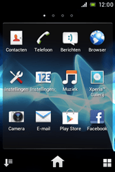 Sony ST21i Xperia Tipo - E-mail - E-mails verzenden - Stap 3