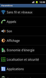 Samsung I8160 Galaxy Ace II - Internet - Configuration manuelle - Étape 4