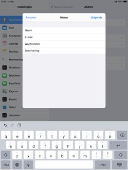 Apple ipad-air-10-5-inch-2019-model-a2123-ipados-13 - E-mail - Account instellen (POP3 met SMTP-verificatie) - Stap 9