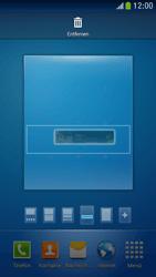 Samsung Galaxy S 4 Mini LTE - Startanleitung - Installieren von Widgets und Apps auf der Startseite - Schritt 8