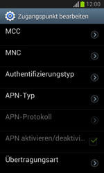 Samsung Galaxy Trend Lite - Internet und Datenroaming - Manuelle Konfiguration - Schritt 15