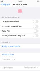 Apple iPhone 7 - iOS 13 - Sécurité - activéz le code PIN de l'appareil - Étape 4