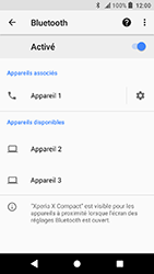 Sony Xperia X Compact - Android Oreo - Bluetooth - connexion Bluetooth - Étape 11