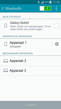 Samsung N910F Galaxy Note 4 - Bluetooth - headset, carkit verbinding - Stap 8