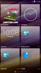 Wiko jimmy - Startanleitung - Installieren von Widgets und Apps auf der Startseite - Schritt 4