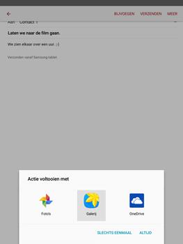 Samsung T815 Galaxy Tab S2 9.7 - E-mail - E-mails verzenden - Stap 14