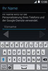 Samsung Galaxy Young 2 - Apps - Konto anlegen und einrichten - 1 / 1