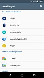Sony Xperia X (F5121) - Android Nougat - WiFi - Verbinden met een netwerk - Stap 4