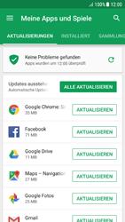 Samsung Galaxy A5 (2016) - Android Nougat - Apps - Nach App-Updates suchen - Schritt 6
