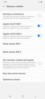 Samsung Galaxy S20 Plus 5G - Internet et roaming de données - Désactivation du roaming de données - Étape 7