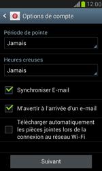 Samsung Galaxy S III Mini - E-mail - 032b. Email wizard - Yahoo - Étape 8
