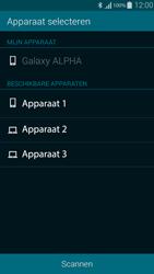 Samsung Galaxy Alpha 4G (SM-G850F) - Contacten en data - Contacten overzetten via Bluetooth - Stap 10