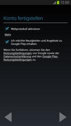 Samsung Galaxy S III LTE - Apps - Einrichten des App Stores - Schritt 17