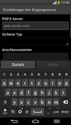 LG G Flex - E-Mail - Konto einrichten - 2 / 2