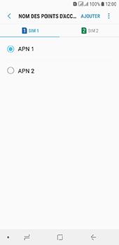 Samsung Galaxy A6 - Internet - configuration manuelle - Étape 19