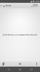 Sony Xperia Z1 Compact - WLAN - Manuelle Konfiguration - Schritt 5