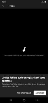 Samsung Galaxy Note20 Ultra 5G - Photos, vidéos, musique - Ecouter de la musique - Étape 6