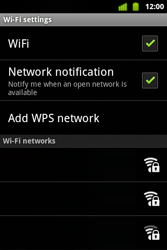 Alcatel OT-983 - WiFi - WiFi configuration - Step 7
