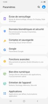 Samsung Galaxy A50 - Sécuriser votre mobile - Personnaliser le code PIN de votre carte SIM - Étape 4