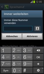 Samsung I9105P Galaxy S2 Plus - Anrufe - Rufumleitungen setzen und löschen - Schritt 9
