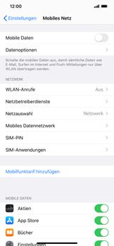 Apple iPhone XS - iOS 13 - Internet und Datenroaming - Prüfen, ob Datenkonnektivität aktiviert ist - Schritt 4