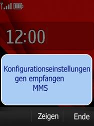 Nokia Asha 300 - MMS - Automatische Konfiguration - Schritt 4