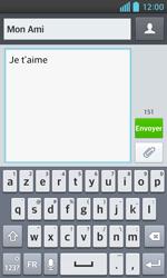 LG Optimus L5 II - Contact, Appels, SMS/MMS - Envoyer un SMS - Étape 9