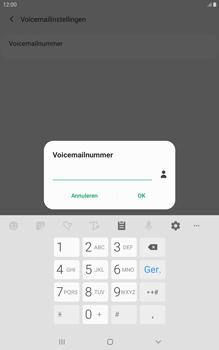 Samsung galaxy-tab-a-8-0-lte-2019-sm-t295 - Voicemail - Handmatig instellen - Stap 11