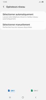 Samsung Galaxy A50 - Réseau - Sélection manuelle du réseau - Étape 8