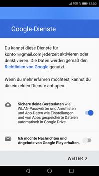 Huawei Mate 9 - Apps - Einrichten des App Stores - Schritt 16