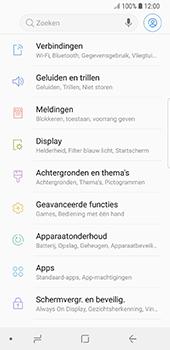 Samsung Galaxy S8 - Oreo - netwerk en bereik - gebruik in binnen- en buitenland - stap 4